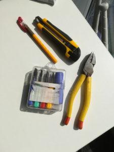 ポイ作る道具