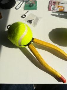 ニッパー&テニスボール