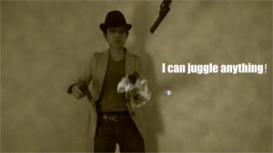 i can juggle anything